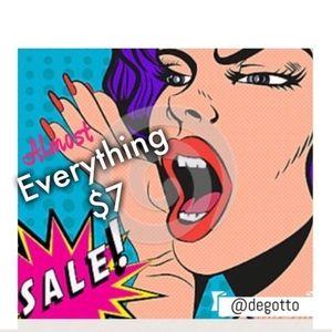 CLOSING CLOSET $7 and $11 Sale 💵💵💵💵💵💵💵💵